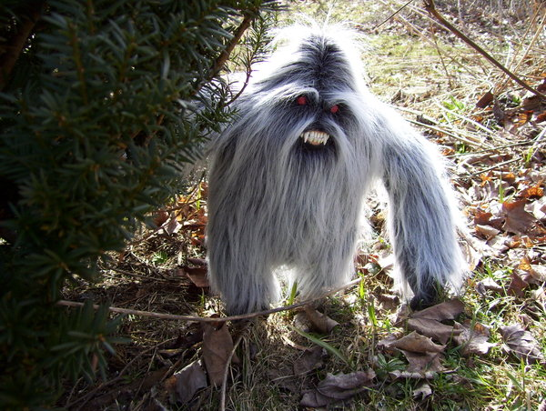 Star Wars Yeti. and attacked by a Yeti,